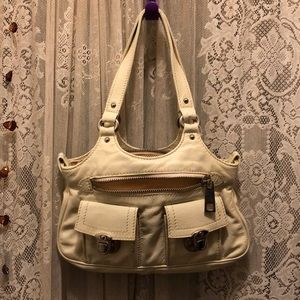 MARC JACOBS(VINTAGE)-SML IVORY LEATHER PURSE